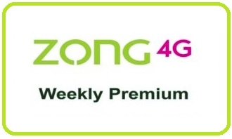 Photo of Zong Weekly Premium 3G/4G Internet Package