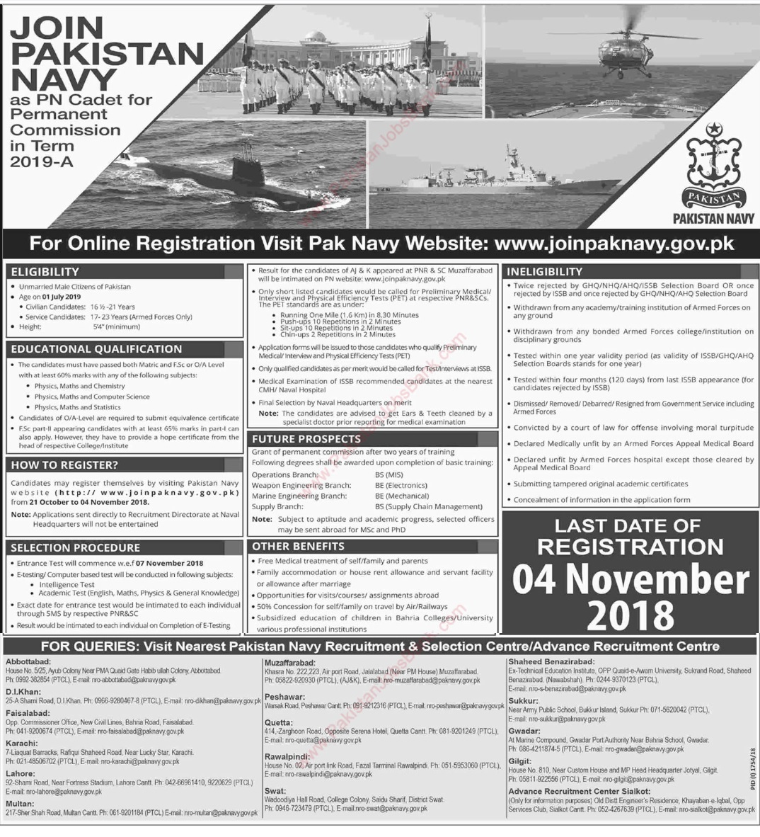 Photo of Pakistan Navy Latest Jobs 2020