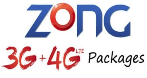 Zong 4G Daily, Weekly & Monthly Internet Packages 2018