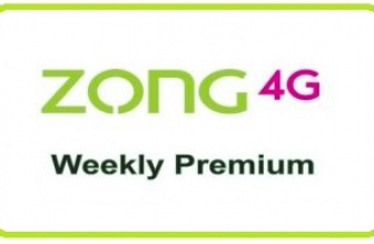 Zong Weekly Premium 3G/4G Internet Package